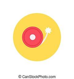 cracker  flat color icon