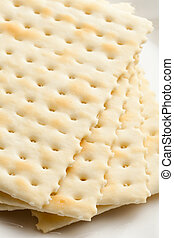 Cracker close up shot