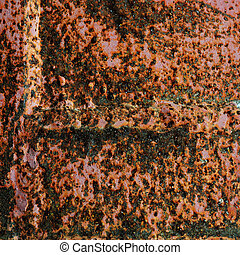 Crackled Rust Pattern