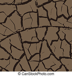 Cracks in the earth