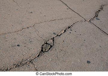 Cracks on Asphalt