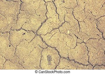cracks on asphalt surface