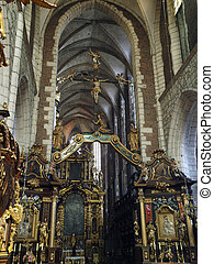 Cracow - Corpus Christi Church was founded by Kasimirus III...