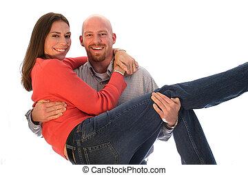 Cradling Lovers