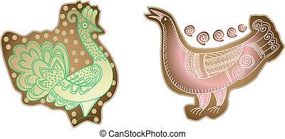 craft birds silhouettes