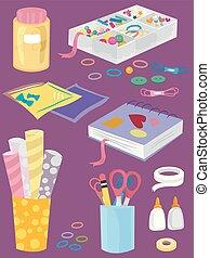 Craft Elements Illustration