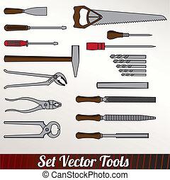 Craft icons - Hand tools