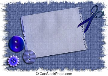 Craft notes - Ready to use craft sewing stationary template...