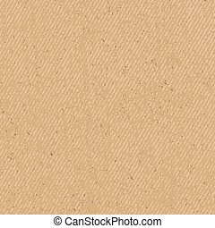 Craft paper grunge seamless texture, vector illustration for...