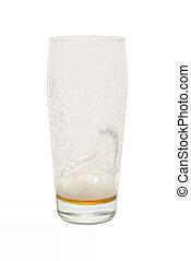 Craft Pub Glass with Empty Glass #1