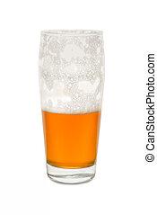 Craft Pub Glass with Half Empty Glass #2