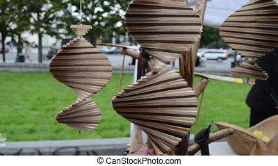 craft spin souvenir decor - Handmade craft spin toys decor...