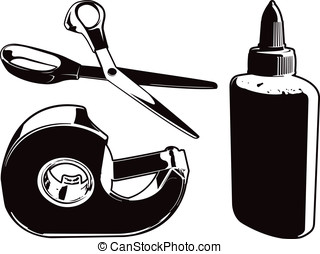 Crafting Tools - Here are three vector graphics of some...