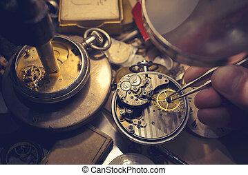 craftmanship, watchmakers