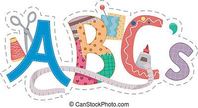 Crafts Alphabet