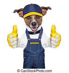 Craftsman dog - craftsman dog with two thumbs , happy to...