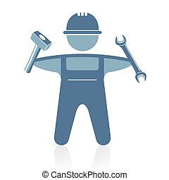 craftsman, hos, redskaberne
