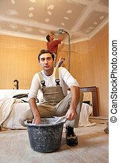 craftsmen painting