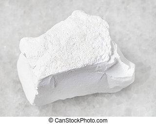 craie, pierre, rugueux, blanc