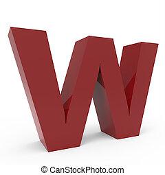 Cramoisi font W