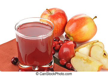Cranberry apple juice