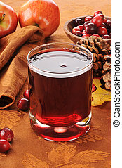 Cranberry juice with apple