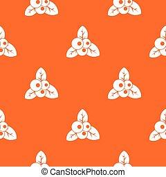 Cranberry pattern seamless