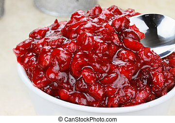 Cranberry Relish - Fresh homemade cranberry relish made from...