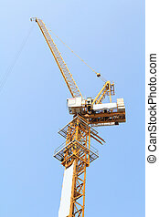 Crane at the construction area