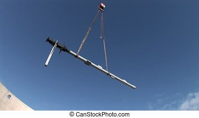 Crane, Building Site