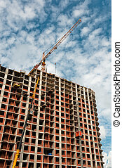 Crane developing new building