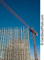 Crane from bellow