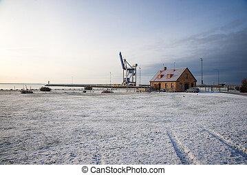 Crane in Sweden