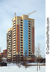 building new brick house