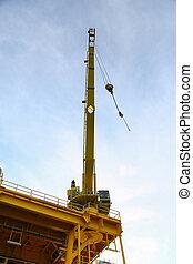 Crane operation transfer cargo