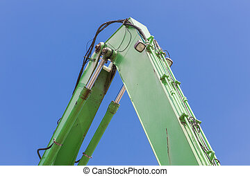 Crane with detail of a jib