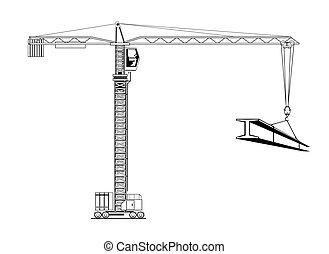 Cranes - Construction cranes
