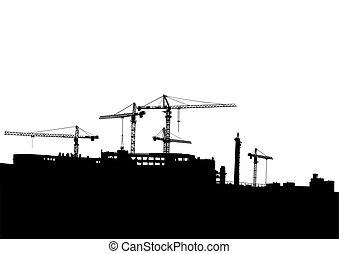 Cranes construction