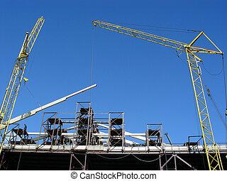 Cranes - Construction site