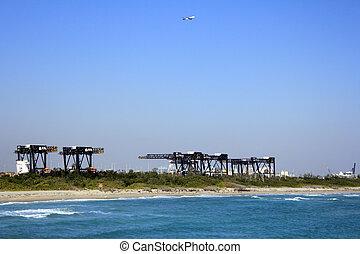 Cranes of Port Everglades