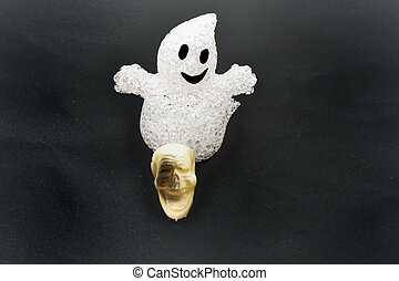 cranio, e, fantasma