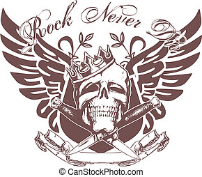 cranio, emblema