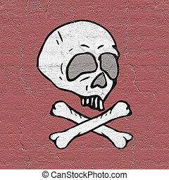 cranio, ilustração