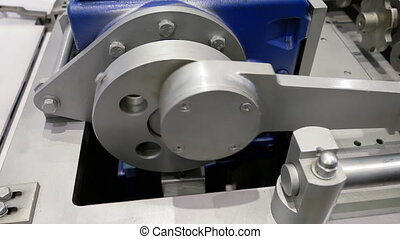 Crank drive gear wheel of industrial plant machine