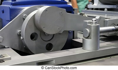 Crank drive gear wheel of industrial plant machine - Crank...
