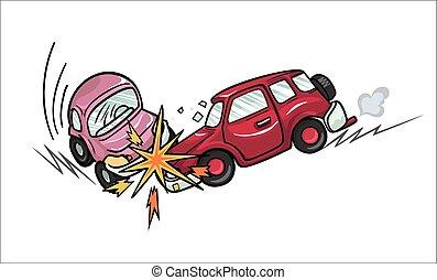 crash., 自動車