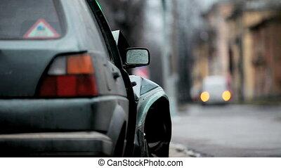 crash - auto accident