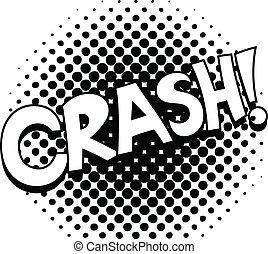Crash - Comic Vector Text