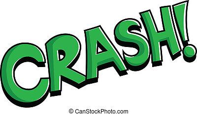 Crash Retro Comic Text