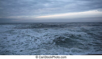 Crashing Waves in Cape Kiwanda OR